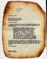 Letter to Holyoke city Mayor
